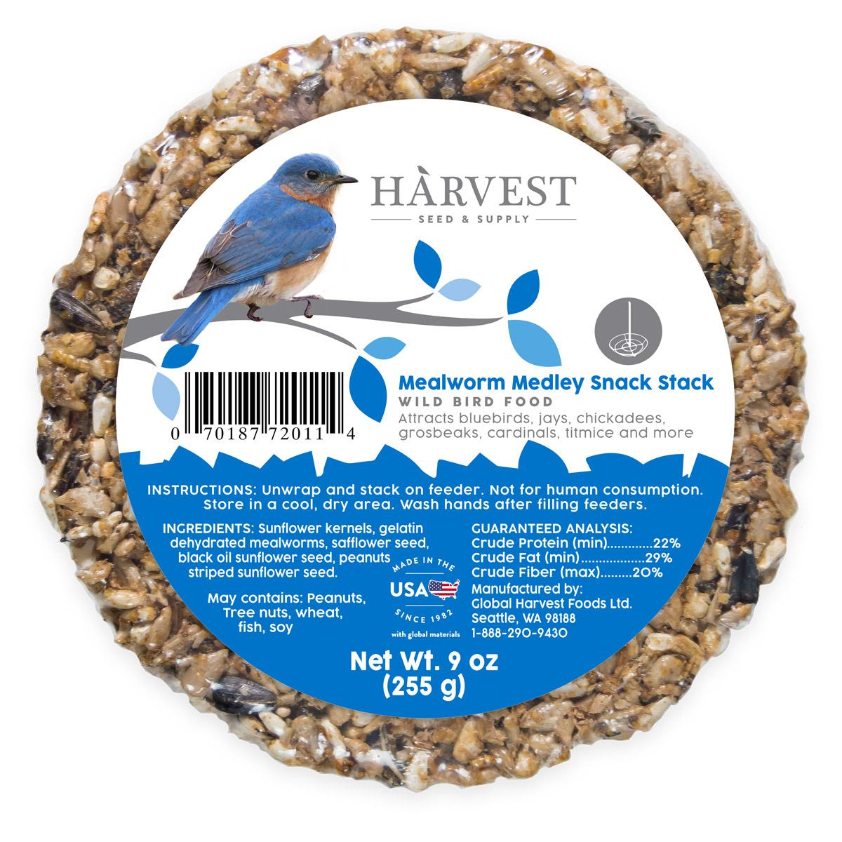 Mealworm Medley Snack Stack Image
