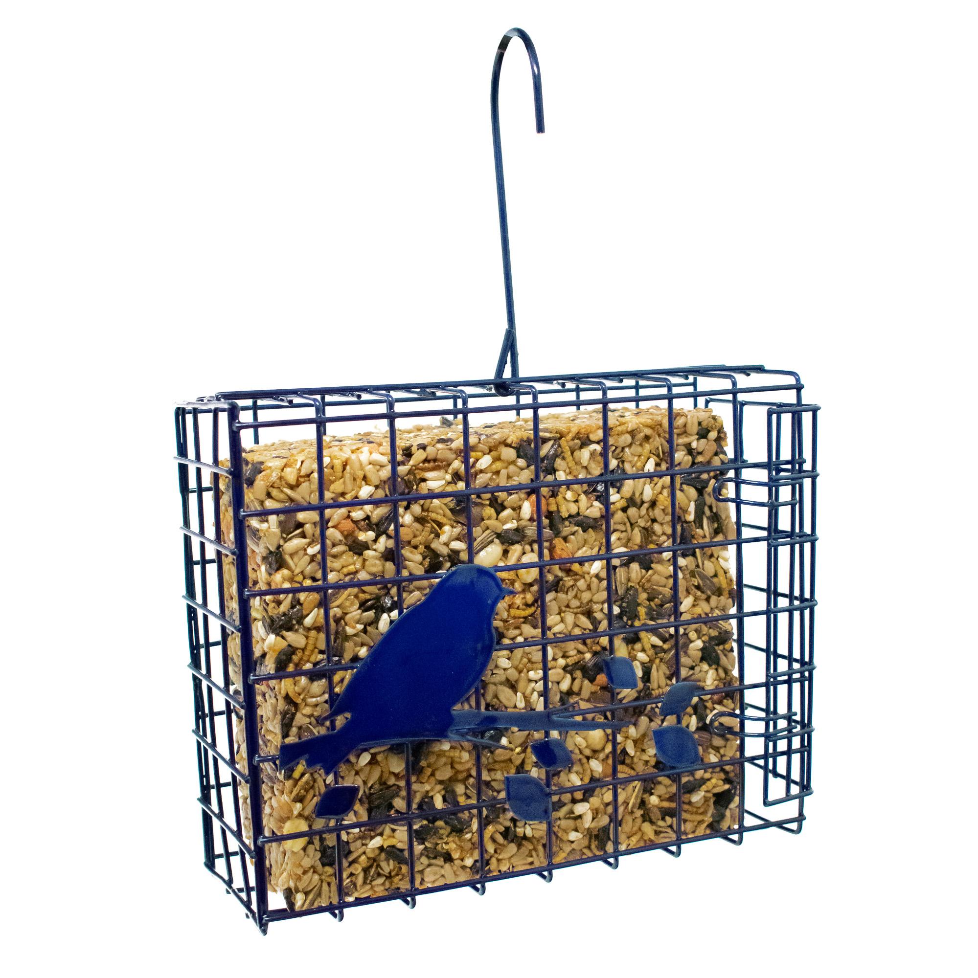 Seed Cake Basket Feeder (Blue) Image
