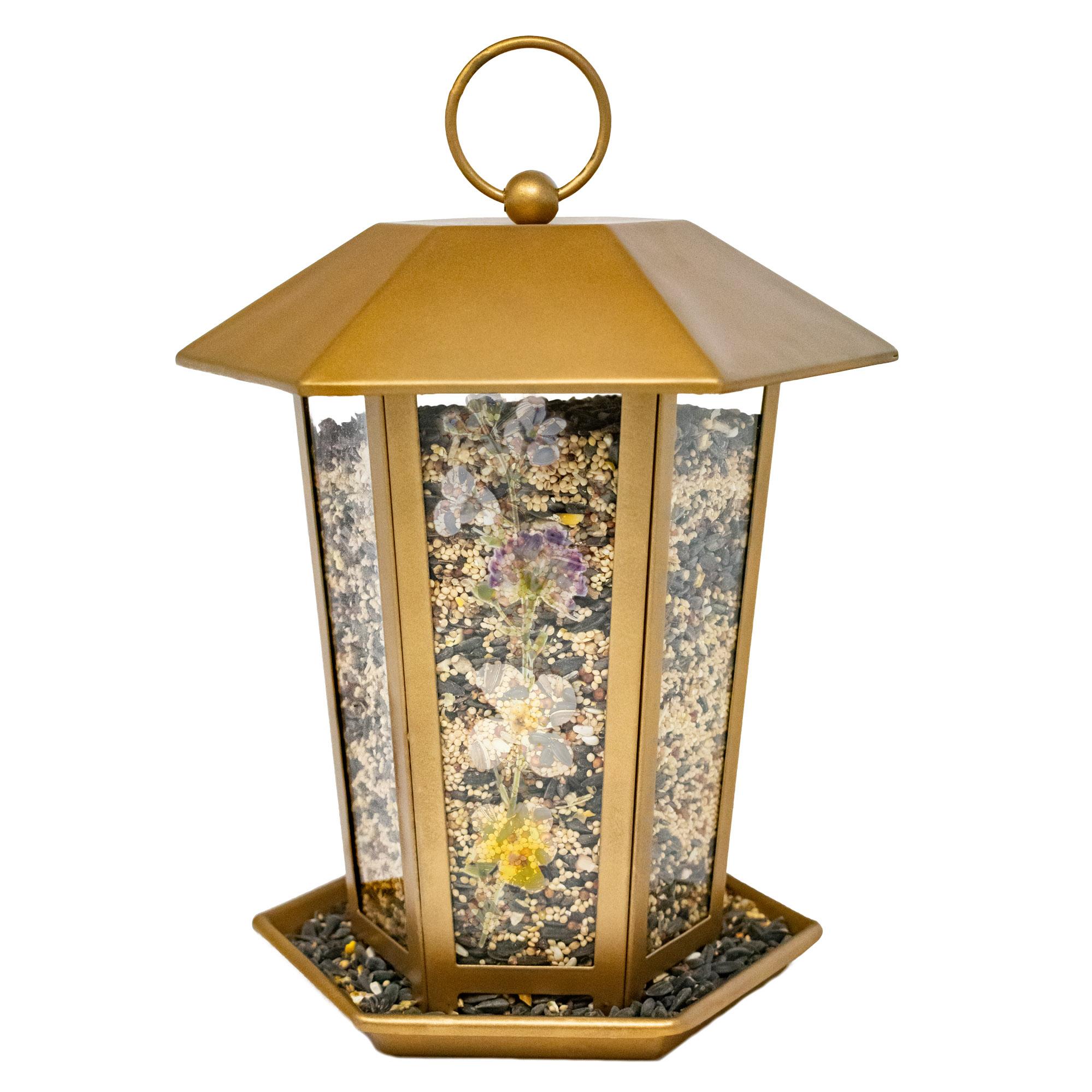 Floral Hopper Feeder Image